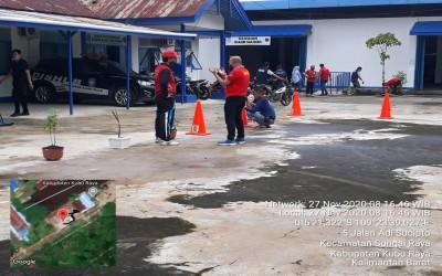 Jum'at Bersih Dinas Perhubungan Kabupaten Kubu Raya