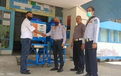 Penerimaan Bantuan Tempat Cuci Tangan dari PT. ASDP
